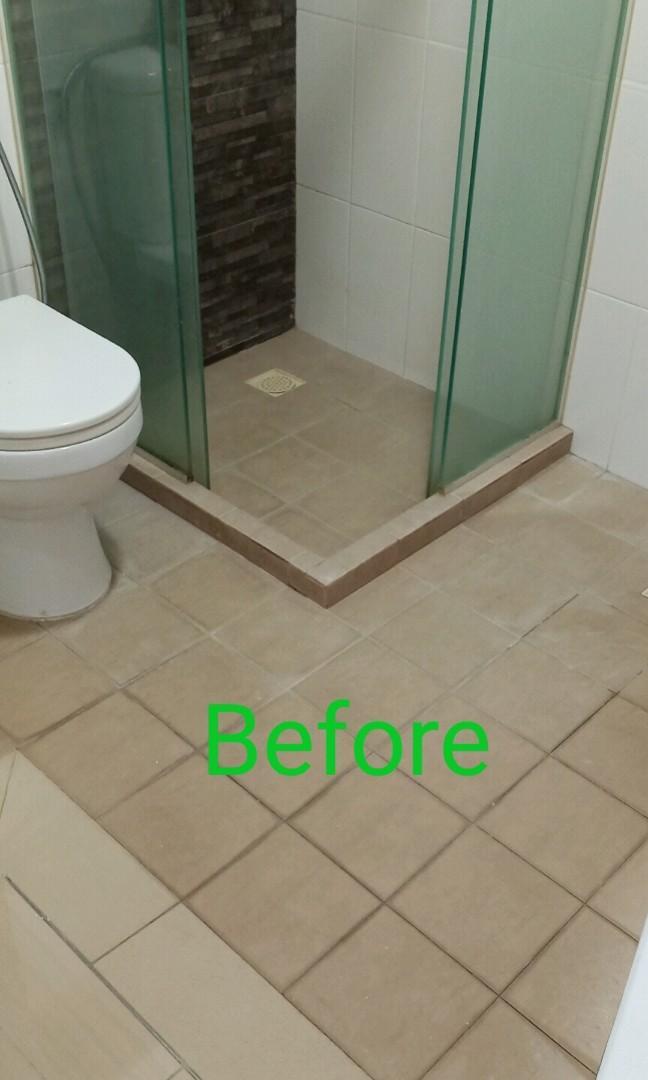 BTO Toilet Floor Overlay (colour flakes)