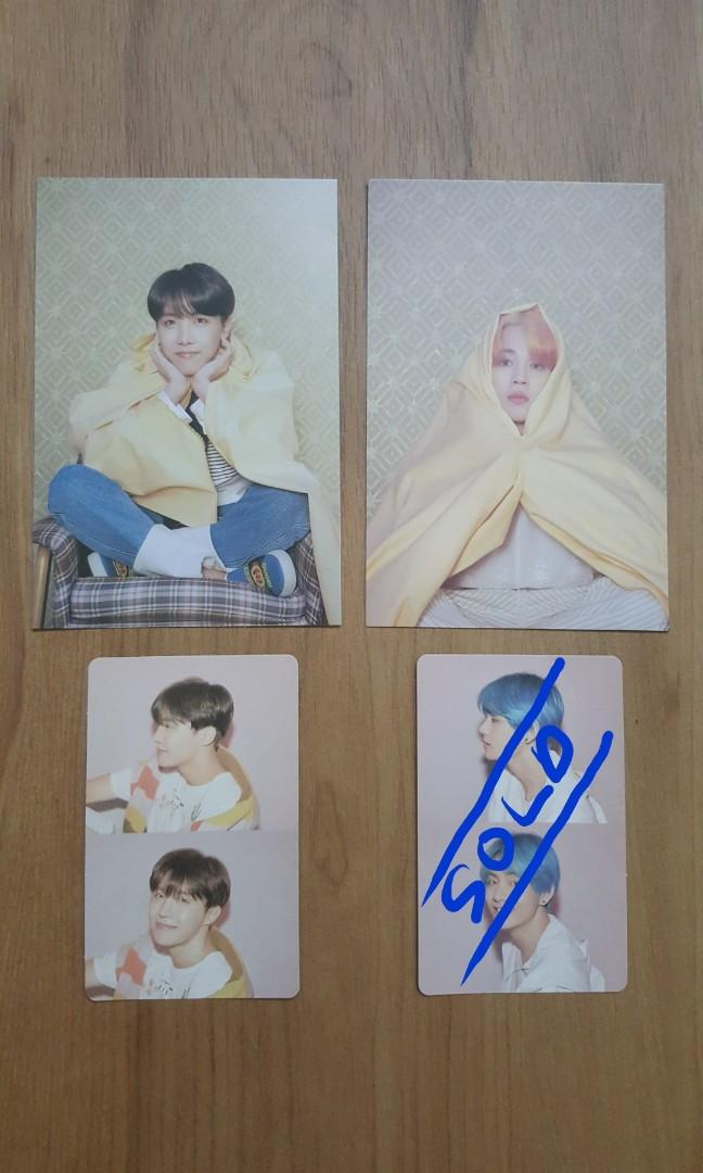 BTS Persona OFFICIAL photocard
