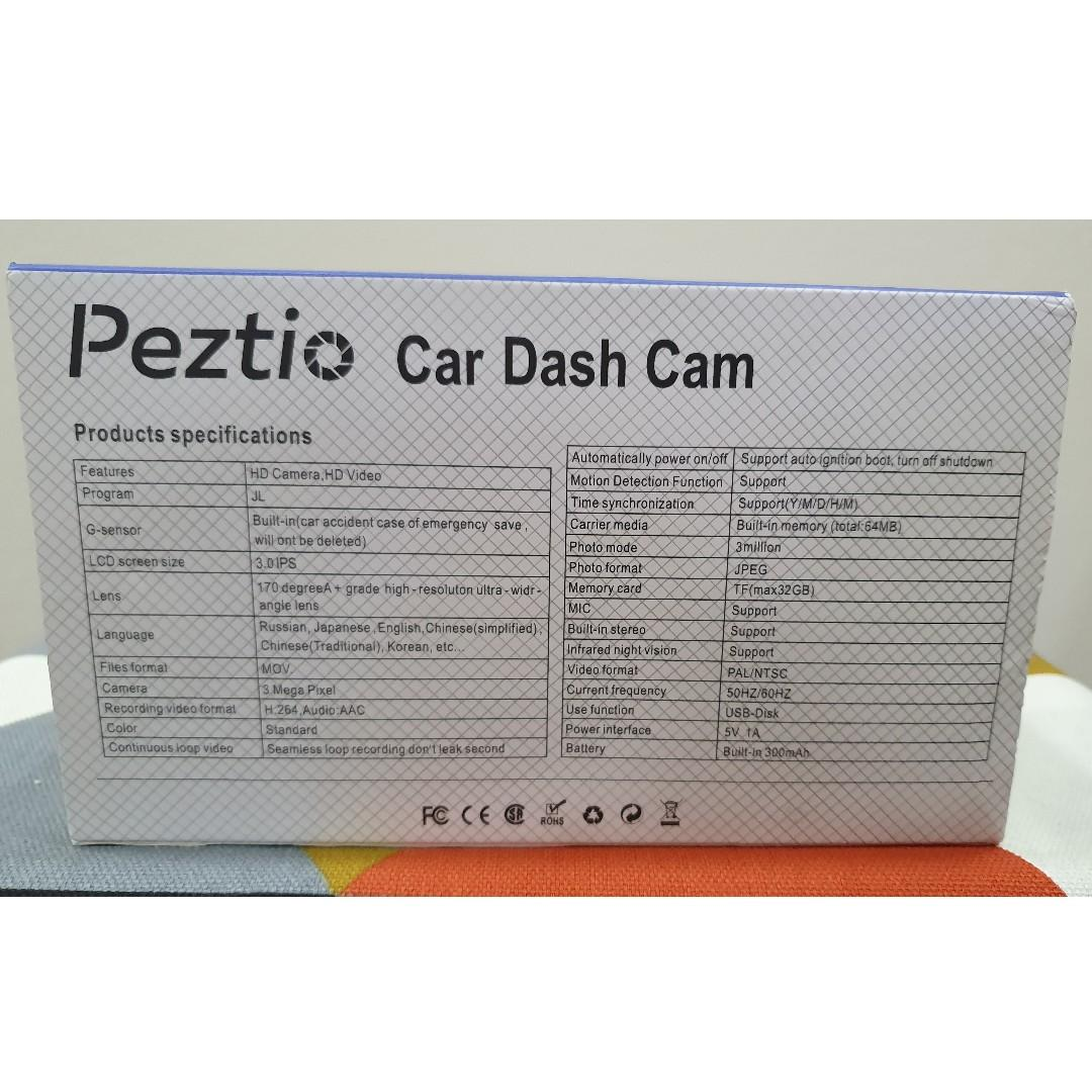 Car Cam front and back