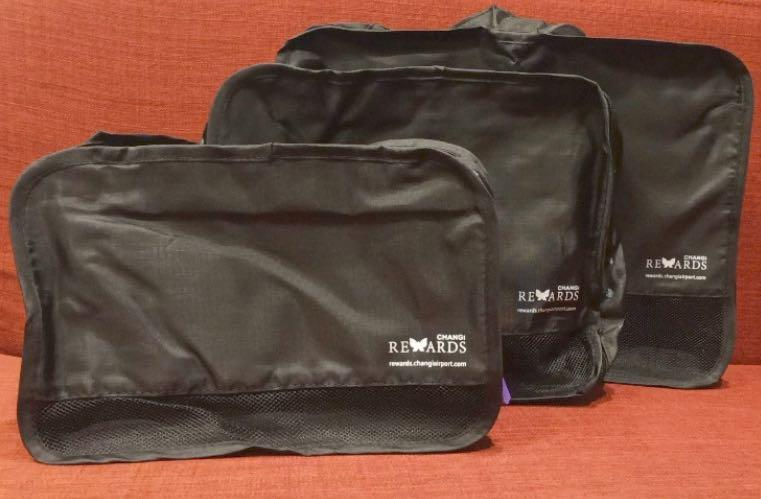 Changi Rewards Exclusive 3-in-1 Travel Bags