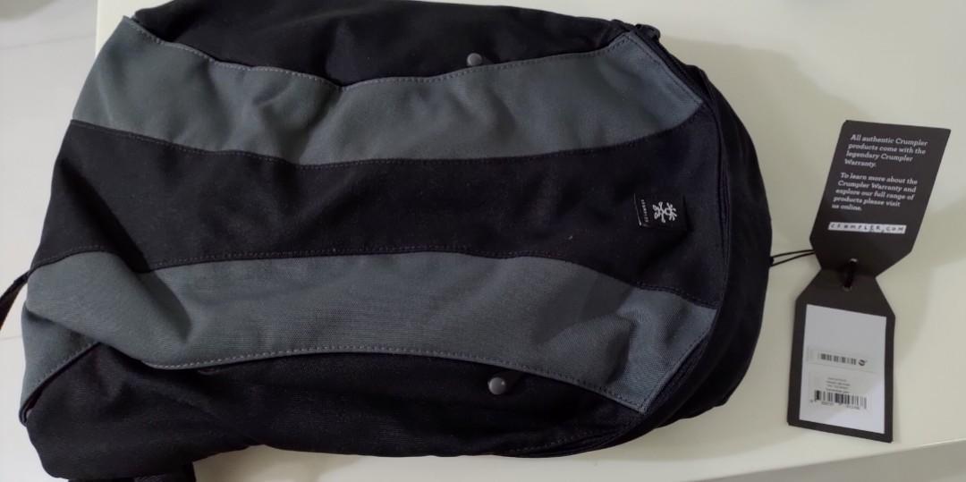 Crumpler backpack (The Yee-Ross)