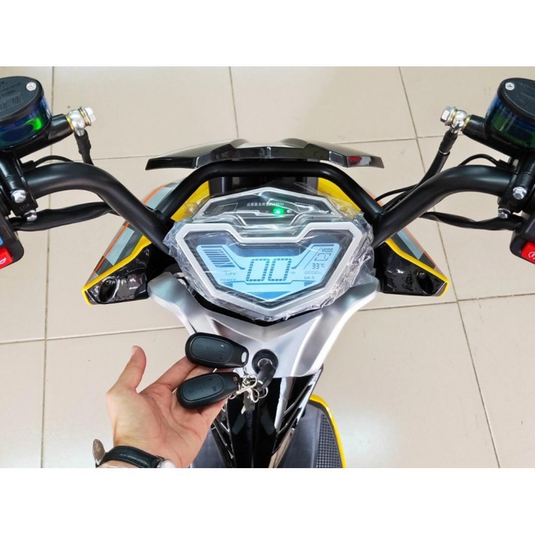 電動車E-Bike- AFF1 (黃)-電動自行車/電動輔助自行車/電動機車/電動車