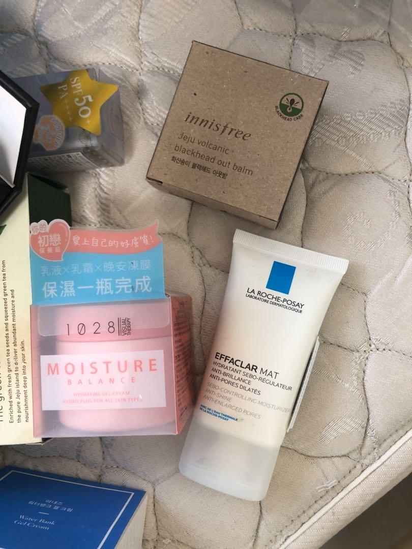 Estée Lauder advanced night repair, sulwhasoo, Chanel Blanc skincare