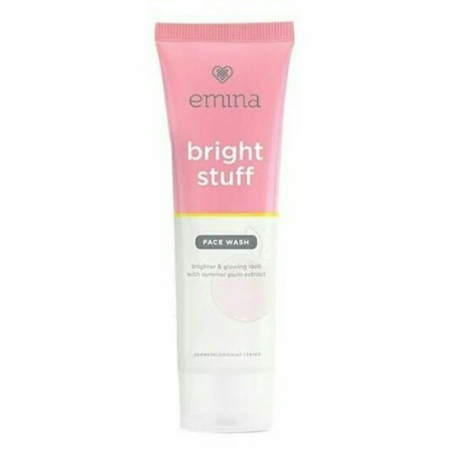 Face Wash Emina Bright Stuff