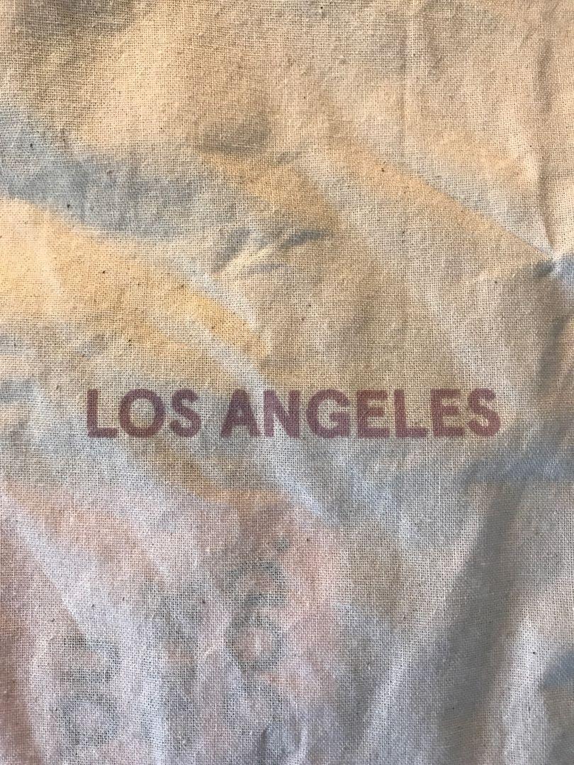 Glossier LA Tote Bag (with free sample)