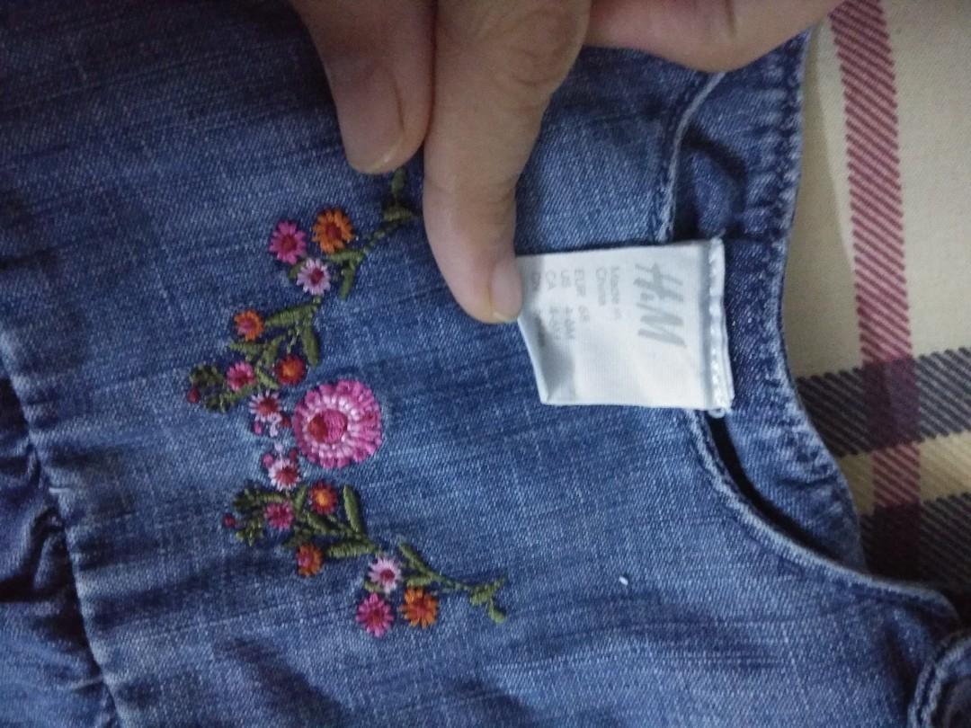 H & M denim dress