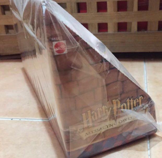 Harry Potter 齊套四隻 貓頭鷹 毛公仔 匙扣 全新 哈利波特