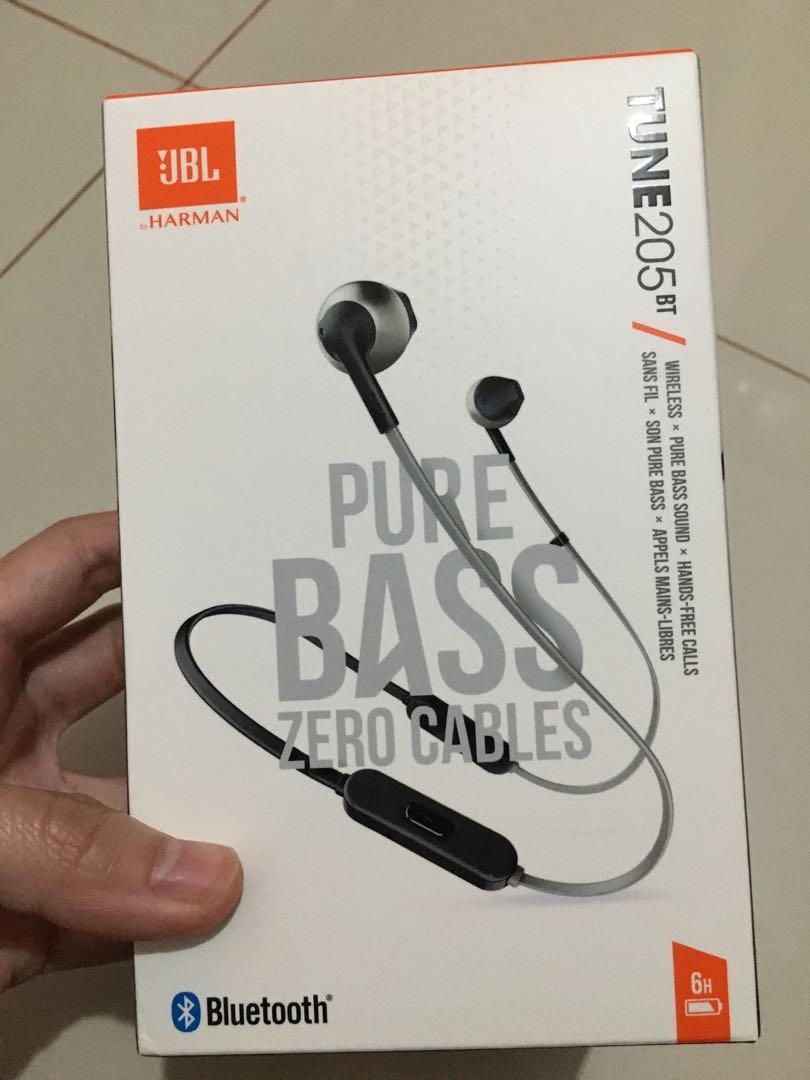Headphone JBL Bluetooth Tune205BT