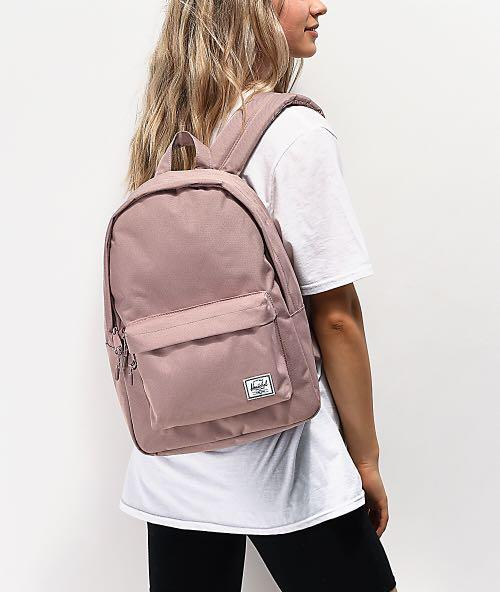 Herschel Classic Mid-Volume Backpack Ash Rose