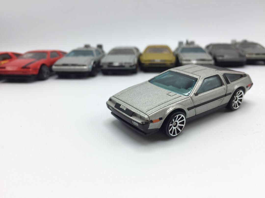Hotwheels DMCxBTTF(lot)