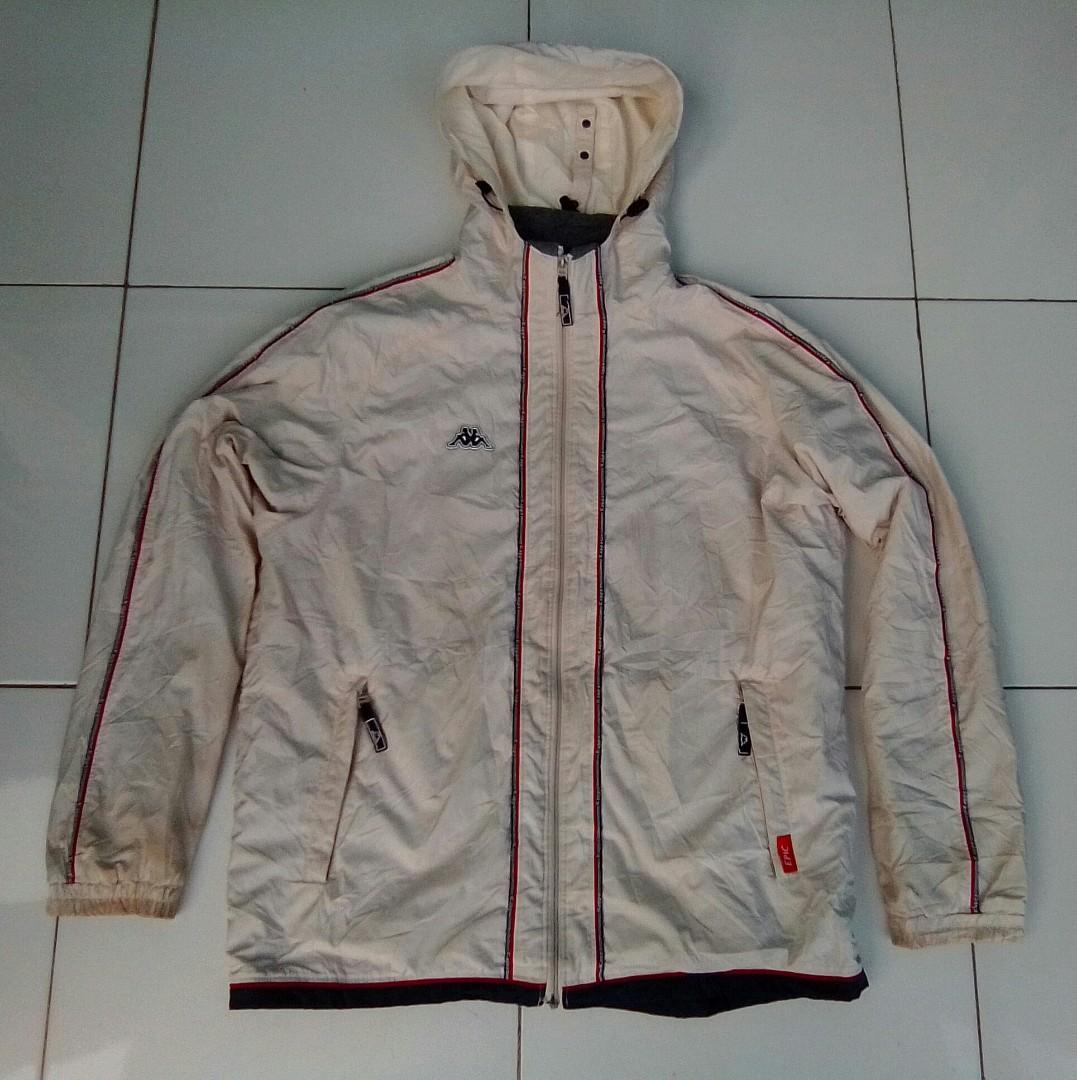 Jaket outdoor kappa windbreaker original