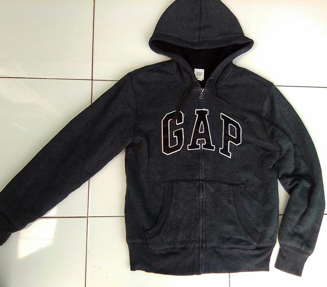 Jaket sweater Zip Hoodie zipper GAP original