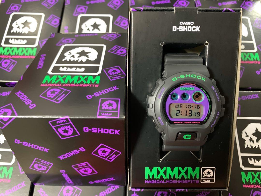 🇯🇵Japan Exclusive JDM Casio G-Shock x MxMxM Magical Mosh Misfits Limited Edition Collaboration DW-6900 Watch