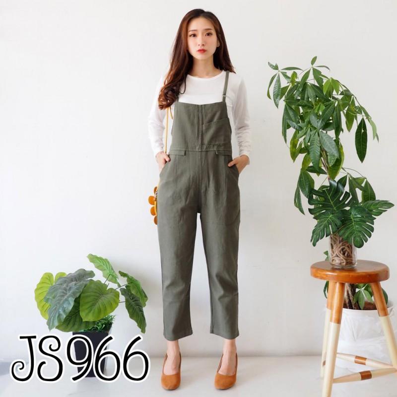 JS966 Jumpsuit celana jeans kodok celana kodok wanita baju kodok wanita jumpsuit overall jumpsuit remaja jumpsuit korea