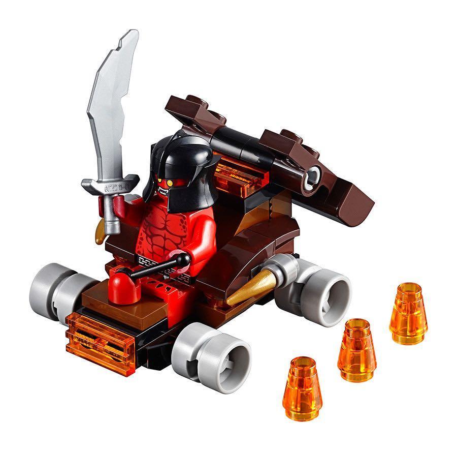 Lego Nexo Knights - Lava Slinger
