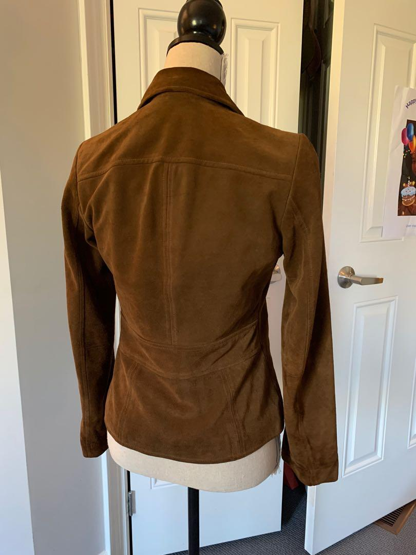 Lightly used Suede Jacket in size 0 from Banana Republic