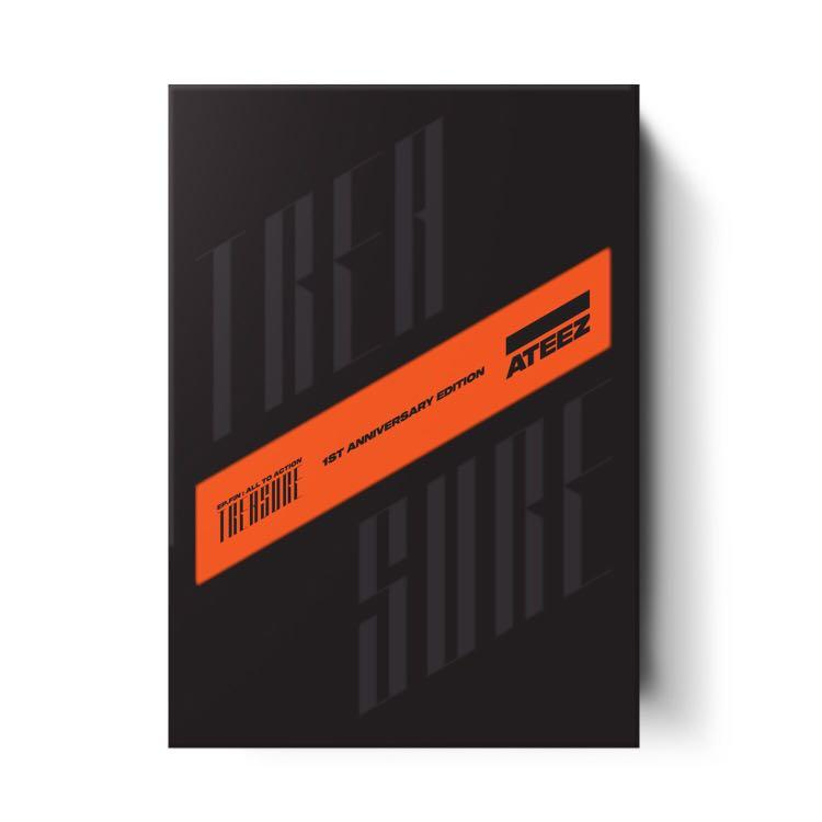 [LIMITED EDITION] ATEEZ - TREASURE EP FIN : ALL TO ACTION (1st Anniversary Edition Version)