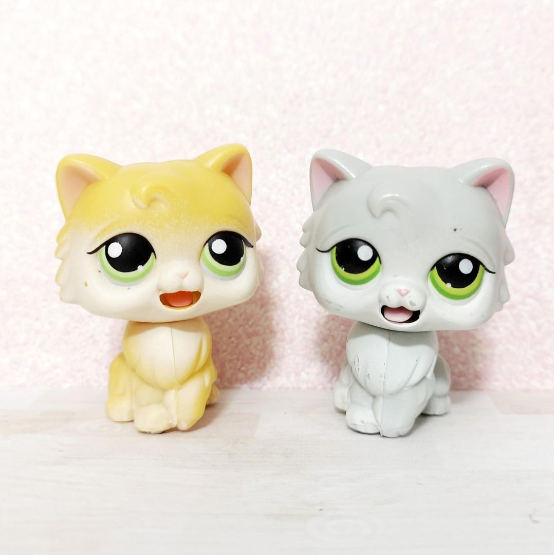 Littlest Pet Shop lps lickeable cats