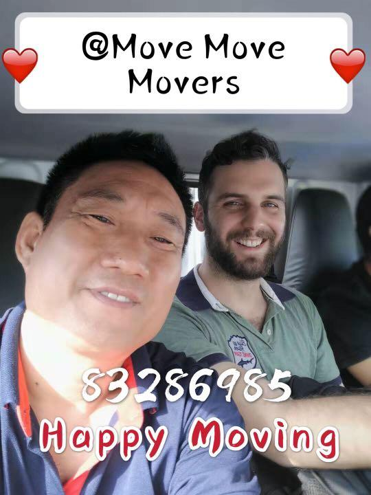 Move Move Movers 7/24 for you🚚🚚🚚 pls call 83286985