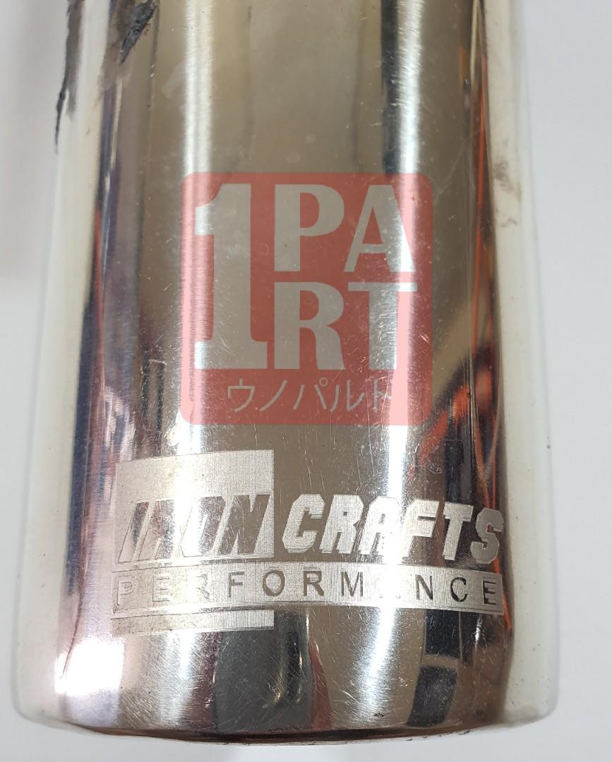 Muffler / Knalpot IRONCRAFTS PERFORMANCE SILENT for Honda Jazz GE8 2008-2013, Honda Brio & Honda Freed