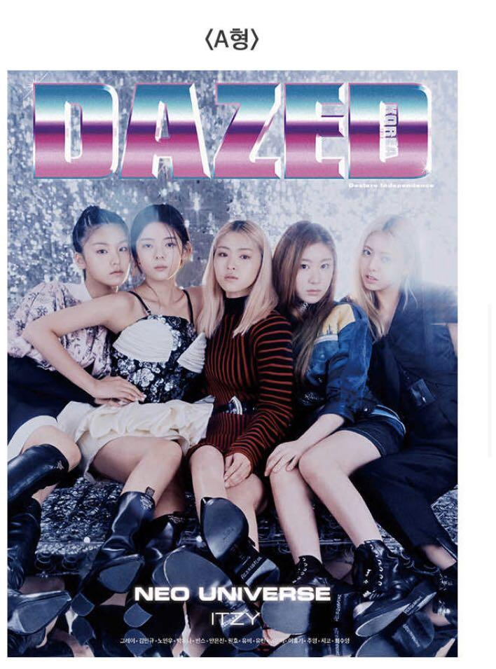 MY GO 🇲🇾 DAZED MAGAZINE NOVEMBER ISSUE ITZY COVER PAGE