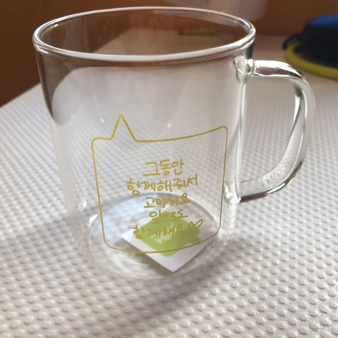 NCT 127 JAEHYUN - glass mug OFFIClAL 3rd anniversary goods