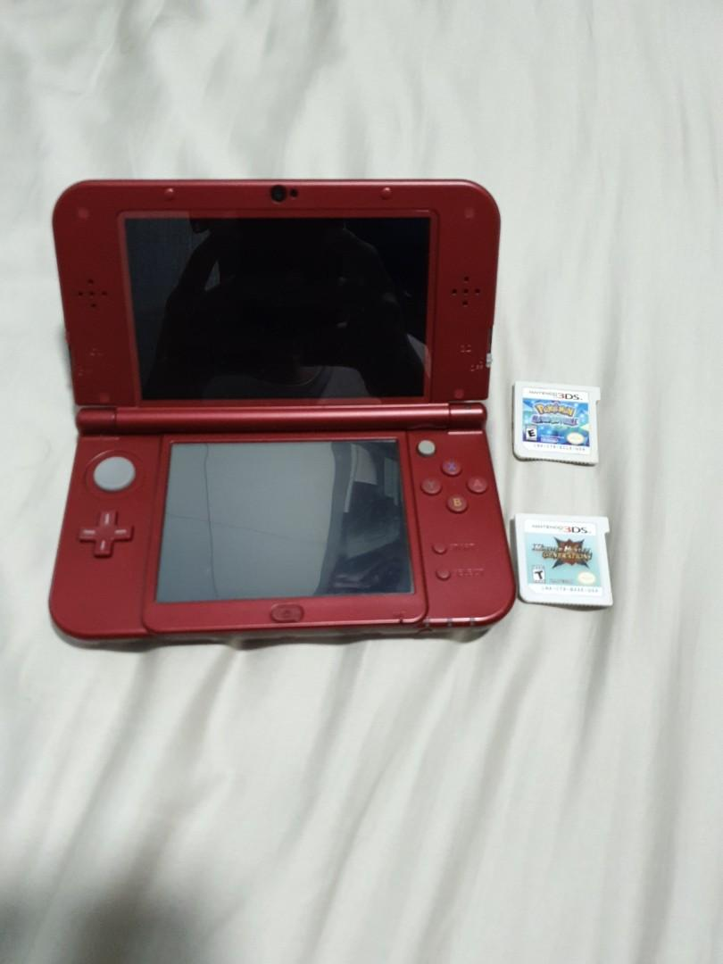 New 3DS XL + 2 games