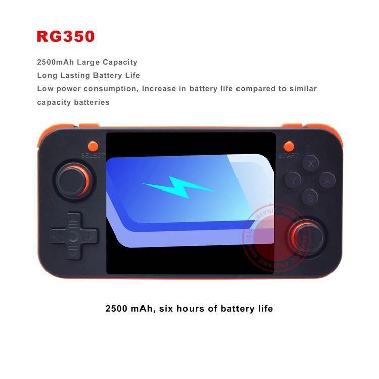 NEW ANBERNIC RG350 IPS Retro Games 350 Video games Upgrade game console 64bit opendingux 3.5inch 2500+ games 16G+32G