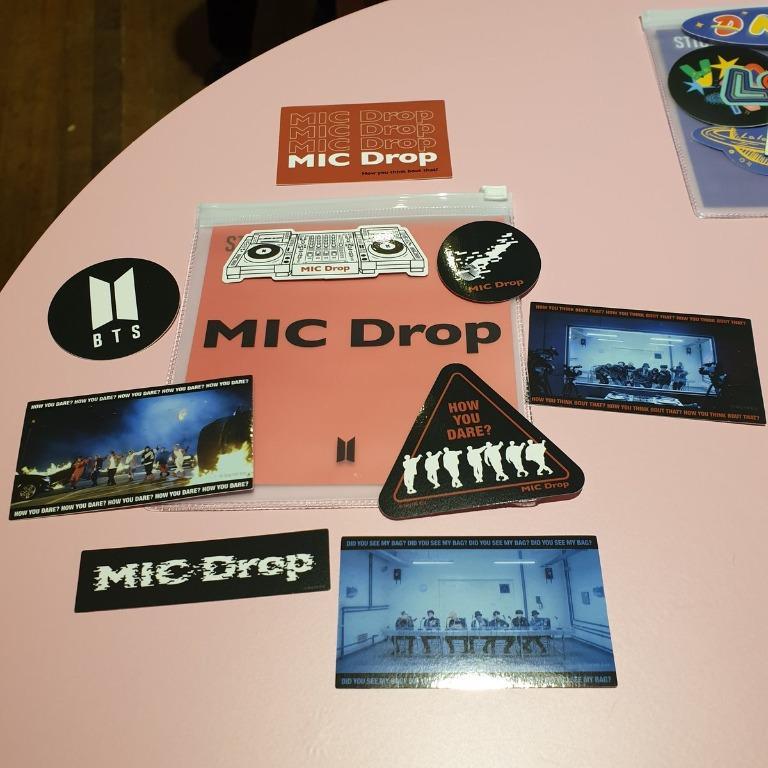 [No EMS MY GO] BTS Pop Up Store: House of BTS - Sticker Set (Limited Slot)
