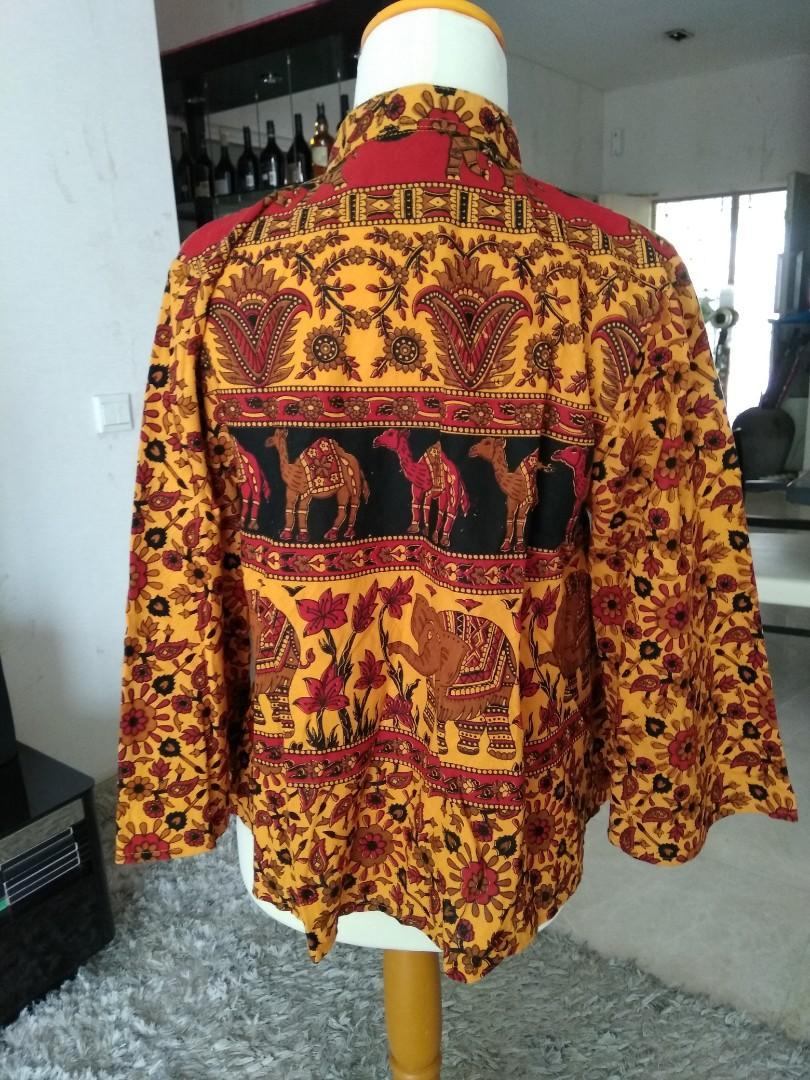 Outer batik free size