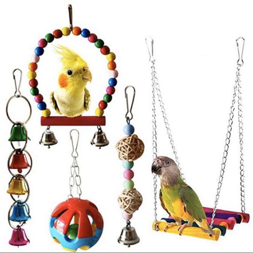 Parrot Toy Set 5 pieces