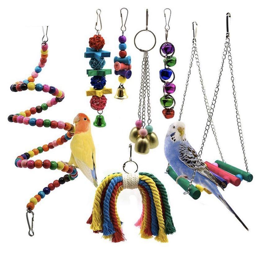 Parrot Toy set 7 pieces