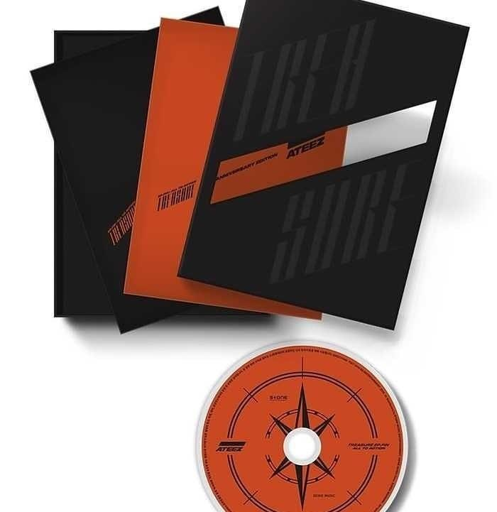 [PO] ATEEZ - TREASURE EP. FIN : ALL TO ACTION (1ST ANNIVERSARY EDITION)