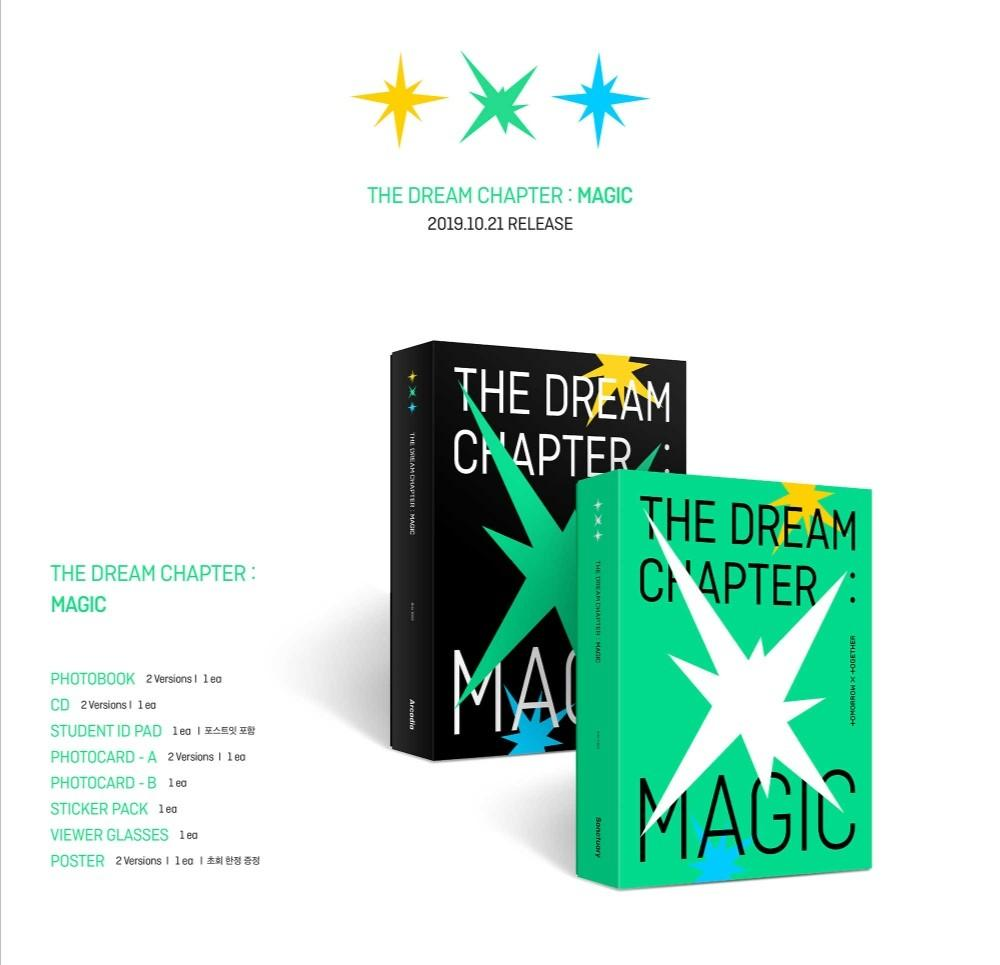 [PREORDER] TXT - THE DREAM CHAPTER : MAGIC 1st Album