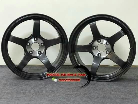 """Rim 18"""" Advan Racing TC3"""