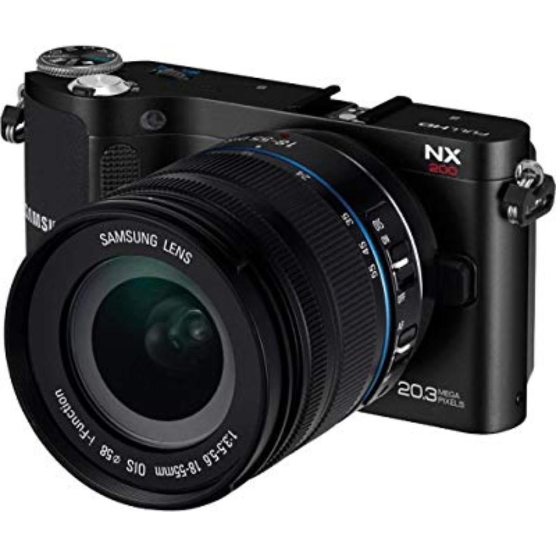 Samsung NX200 mirroless (welcome to nego)