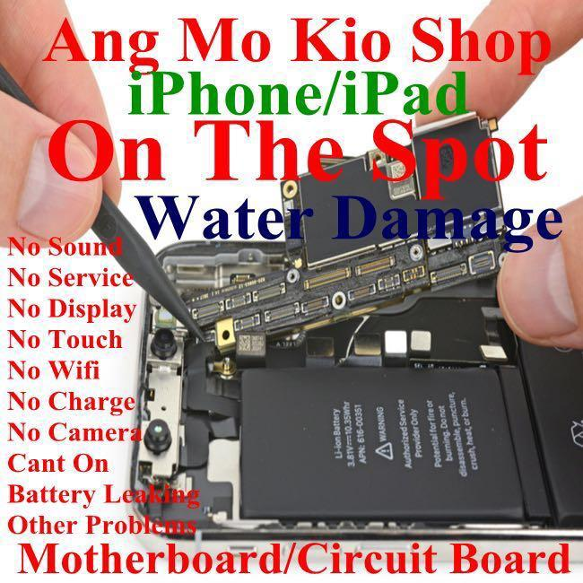 Samsung S8,S9,Note 8/9, iPhone 6,7,8,X,XS LCD Repair