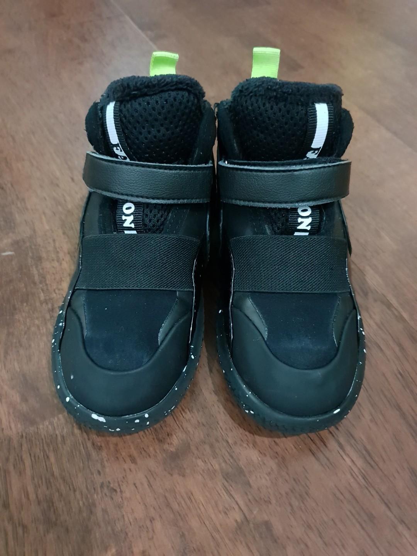 Sepatu boot hitam (winter shoes)