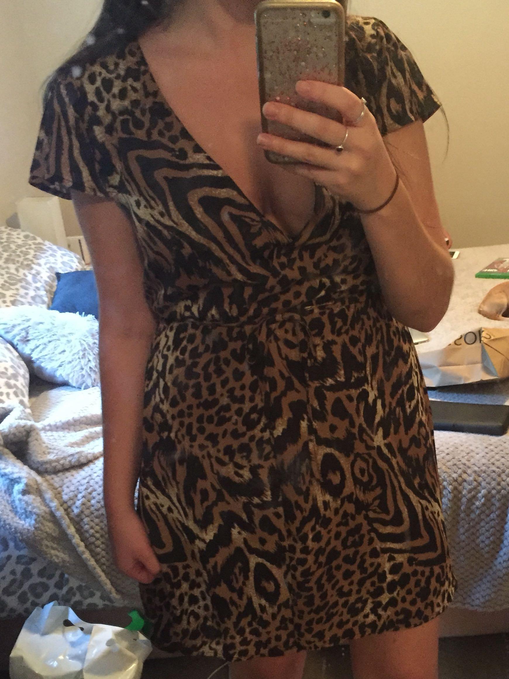 Size 12 Glassons wrap dress