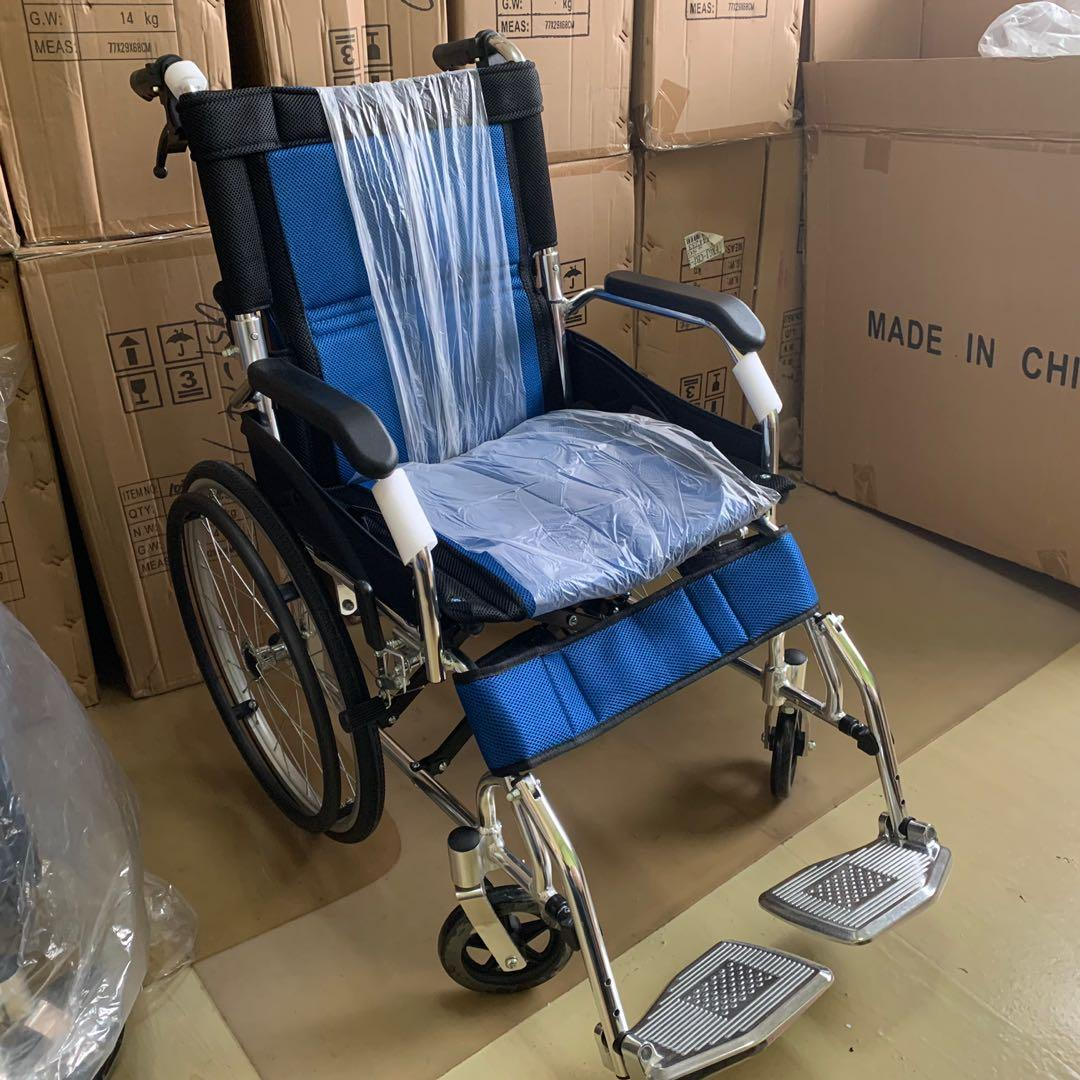 Small Compact Ultra Light Weight Premium Self Propelled Wheelchair 10.5kg