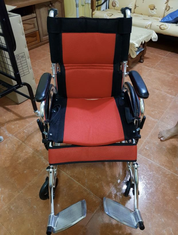 Small Compact Ultra Light Weight Premium Self Propelled Wheelchair