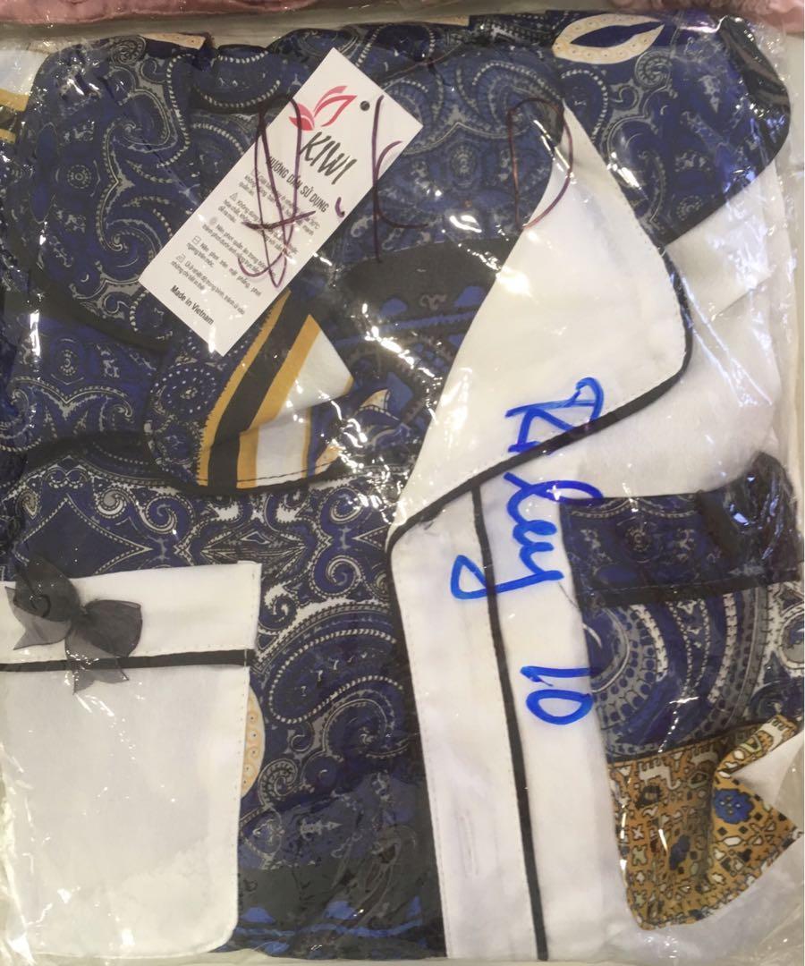 Soft Satin Silk Pyjamas Set - Brand New