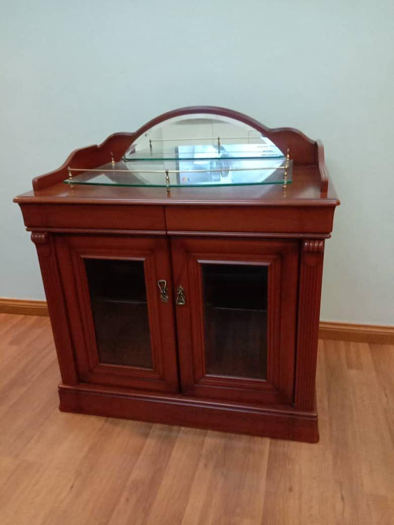 Solid wood side cabinet