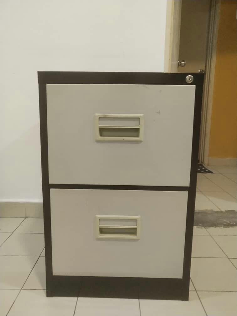 Steel office storage drawer