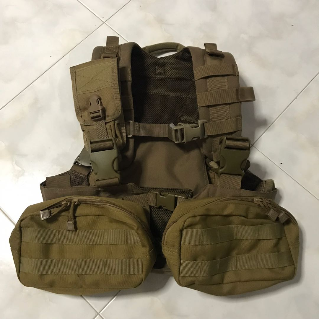 Condor Tactical Vest Load Bearing Vest Chest Rig Sports Sports Apparel On Carousell