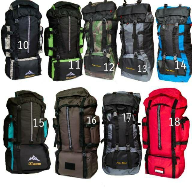 Tas hiking 65L - tas gunung - tas carrier - tas tactical besar -