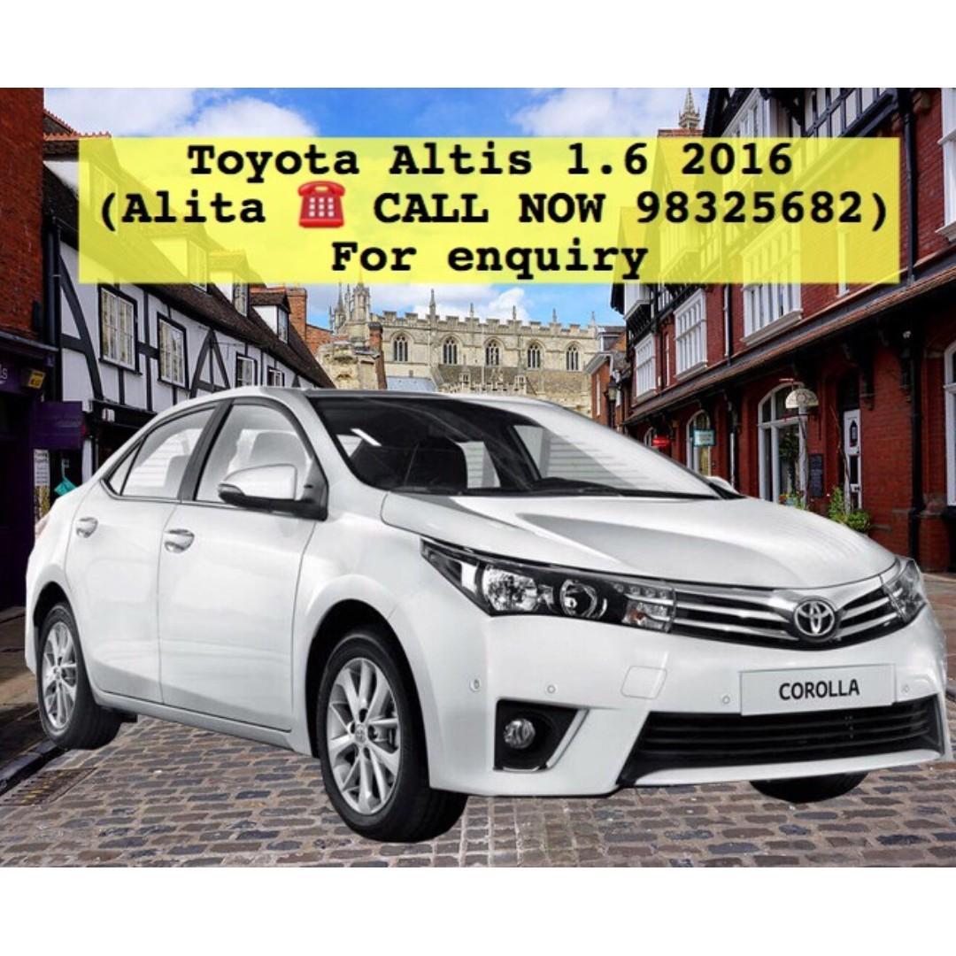 Toyota Altis 1.6 2016