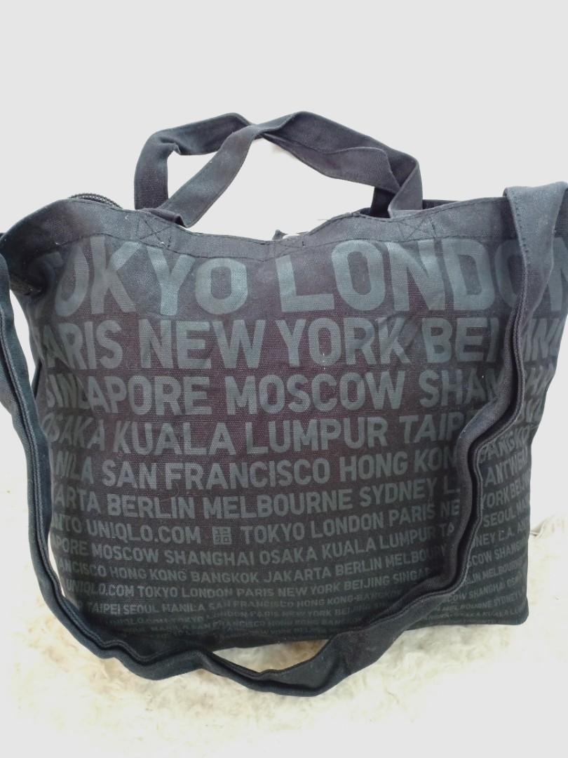 Uniqlo world city sling carry bag