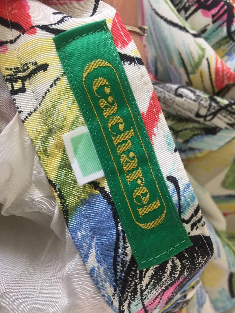Vintage 法國Cacharel日本製長裙