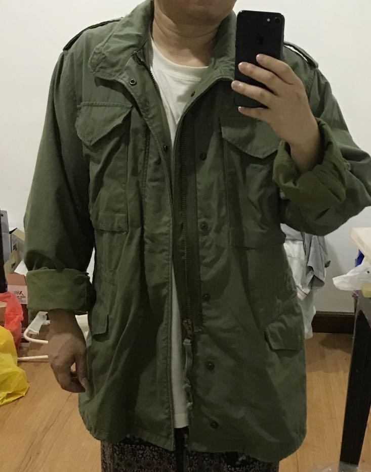 Vintage small Alpha Industries m65 army jacket